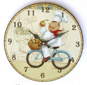 Orologi da cucina la comodit di avere ore e minuti for Orologi a parete da cucina