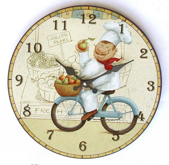 Orologi da cucina. la comodità di avere ore e minuti sempre ben ...